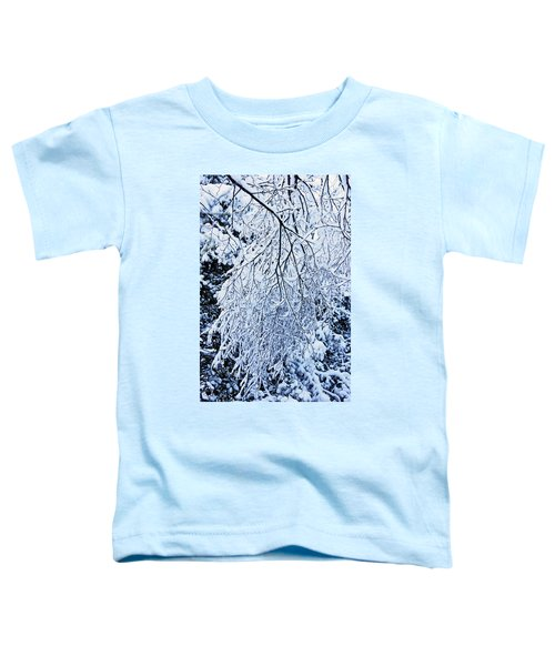 30/01/19  Rivington. Snow Covered Branches. Toddler T-Shirt