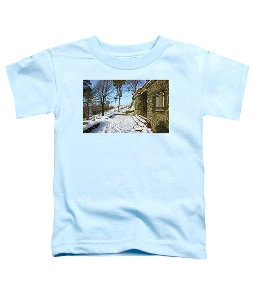 30/01/19  Rivington. Summerhouse In The Snow. Toddler T-Shirt