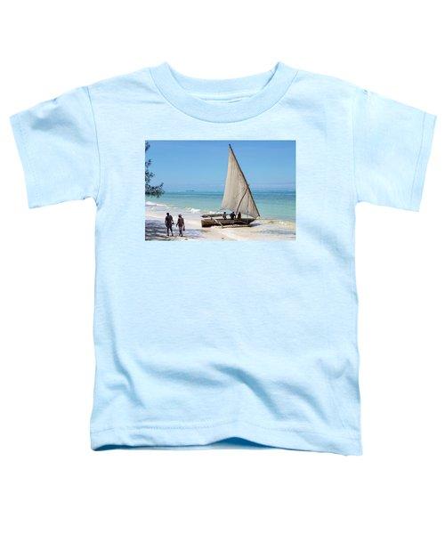 A Dhow In Zanzibar Toddler T-Shirt