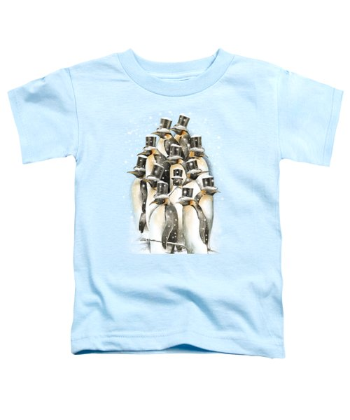 A Gathering In The Snow Toddler T-Shirt