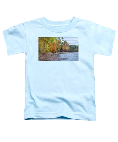 A Peaceful Place On An Autumn Day Toddler T-Shirt