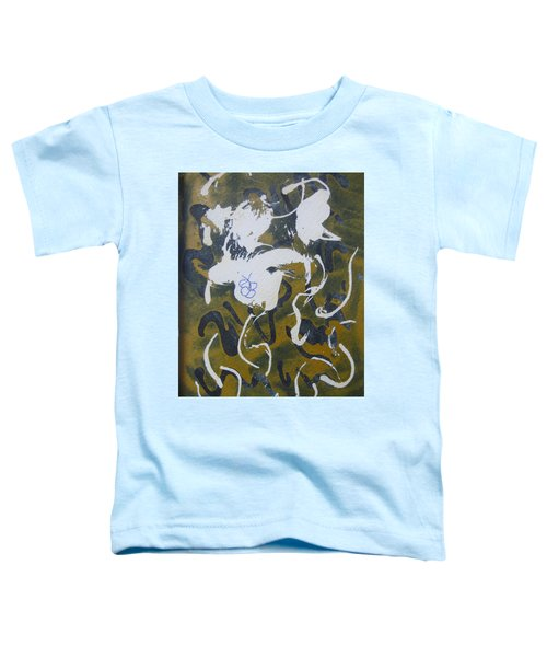 Abstract Human Figure Toddler T-Shirt