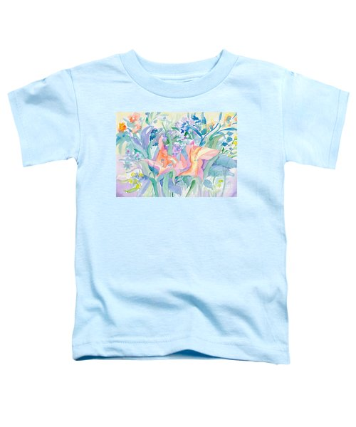 Abstract Lilies Toddler T-Shirt