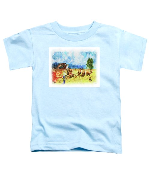 Amish Life Toddler T-Shirt