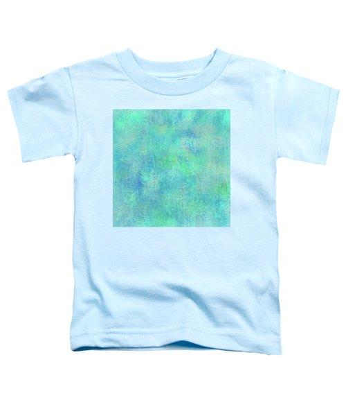 Aqua Batik Print Coordinate Toddler T-Shirt