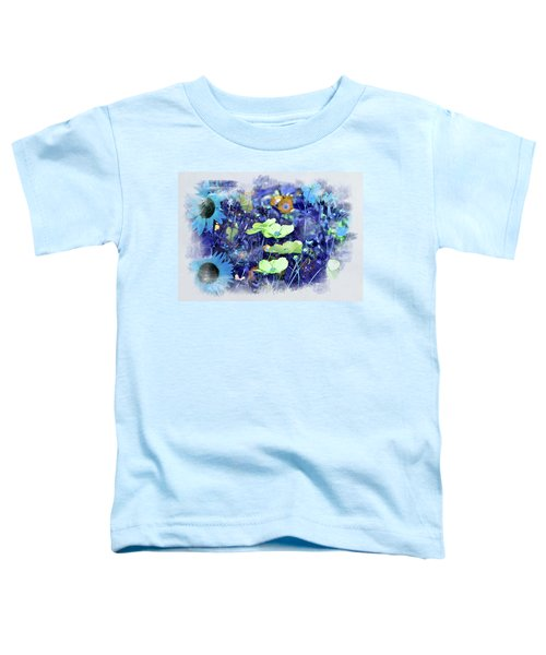 Aqua Blue Toddler T-Shirt