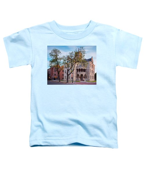 Architectural Photograph Of The Comal County Courthouse In Downtown New Braunfels Texas Hill Country Toddler T-Shirt