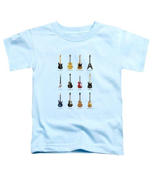 Guitar Icons No2 Toddler T-Shirt