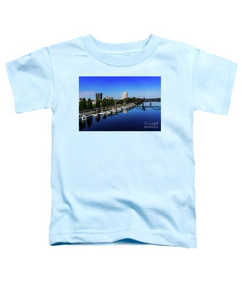 Augusta Ga Savannah River 2 Toddler T-Shirt