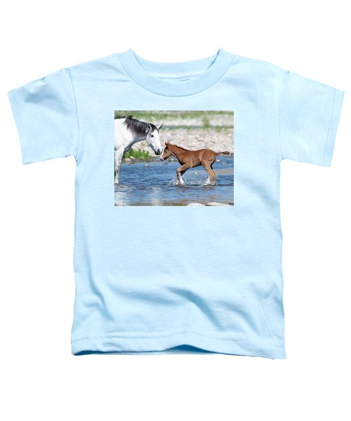 Baby's First River Trip Toddler T-Shirt