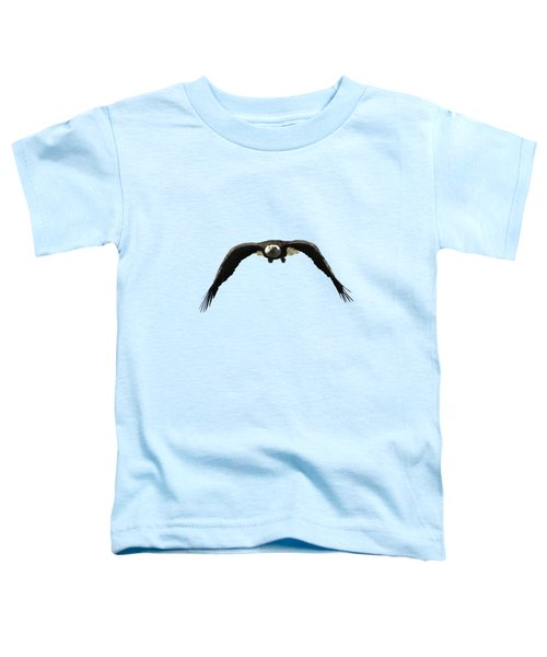 Bald Eagle In Flight Toddler T-Shirt