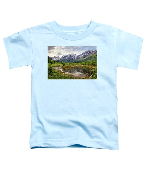 Beaver Pond, Eagle River Ak Toddler T-Shirt