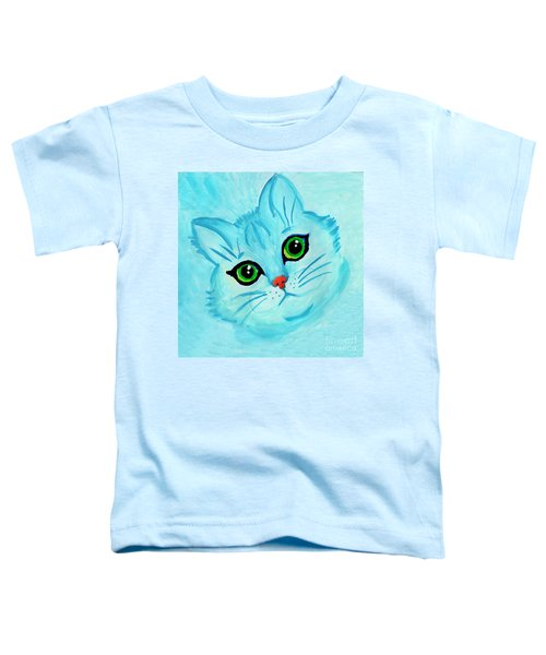 Blue Cat Toddler T-Shirt