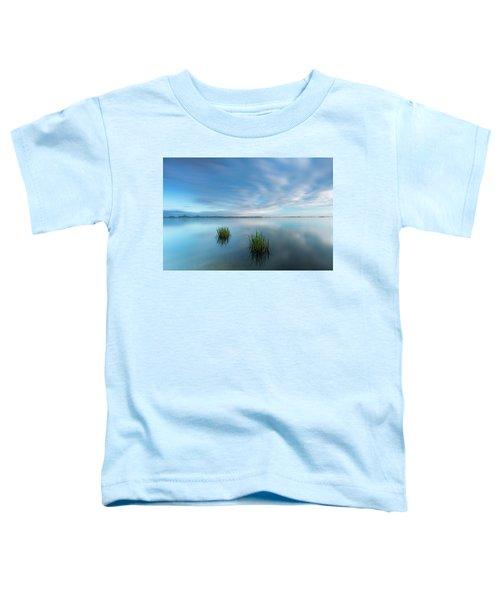 Blue Whirlpool Toddler T-Shirt