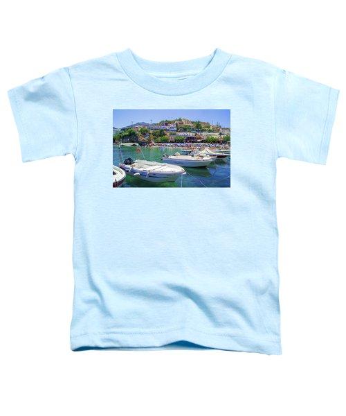 Boats In Bali Toddler T-Shirt