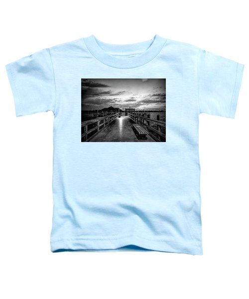 Bradenton Beach City Pier Toddler T-Shirt