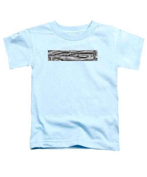 Bridge Over Frozen Waters Toddler T-Shirt