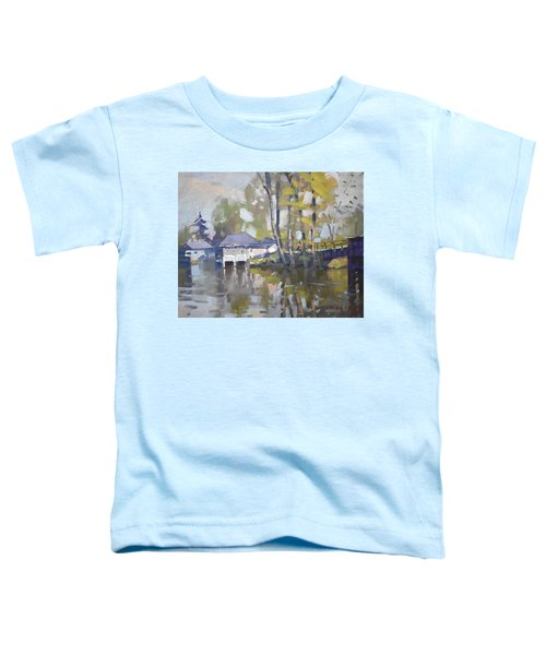 Bridge To Boathouses  Toddler T-Shirt
