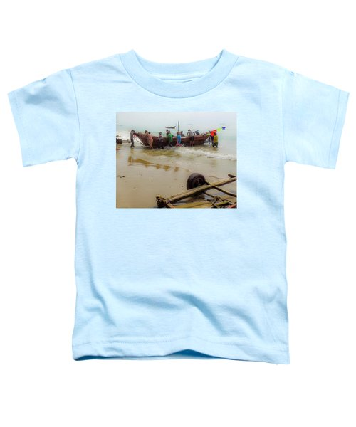 Bringing In The Catch Toddler T-Shirt