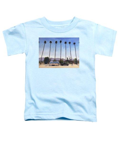 California Honeymoon Toddler T-Shirt
