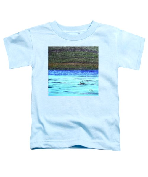 Call Of The Loon Toddler T-Shirt