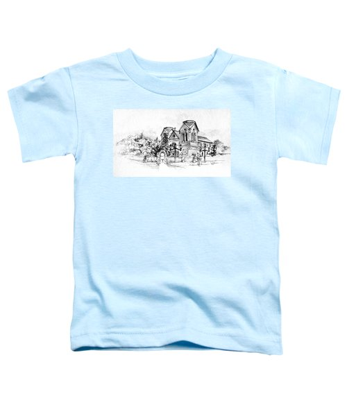 Cathedral Basilica Of St. Francis Of Assisi - Santa Fe, New Mexico Toddler T-Shirt