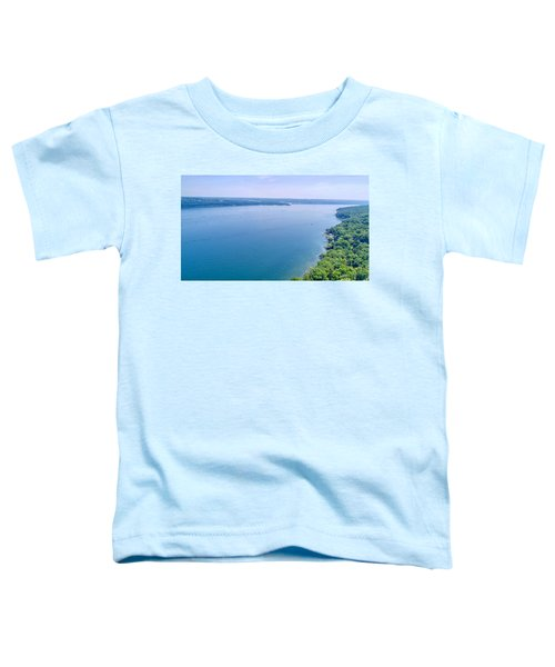 Cayuga From Above Toddler T-Shirt