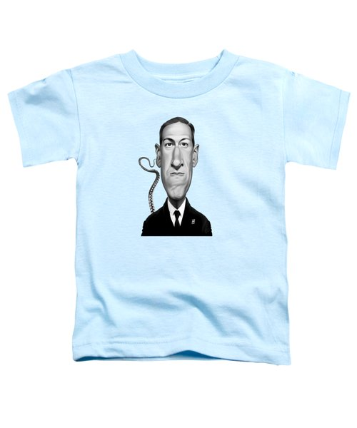 Celebrity Sunday - H.p Lovecraft Toddler T-Shirt