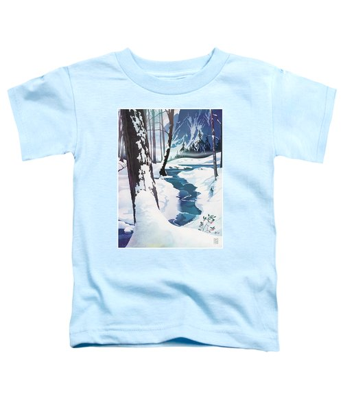 Morning At Christmas Creek Toddler T-Shirt