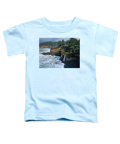 Cliffs Of Boiler Bay Toddler T-Shirt