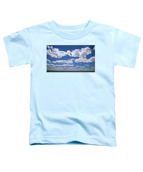 Toddler T-Shirt featuring the photograph Clouds, Part 1 by Carl Young