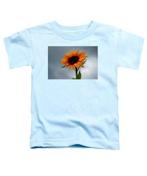 Cloudy Sunflower Toddler T-Shirt