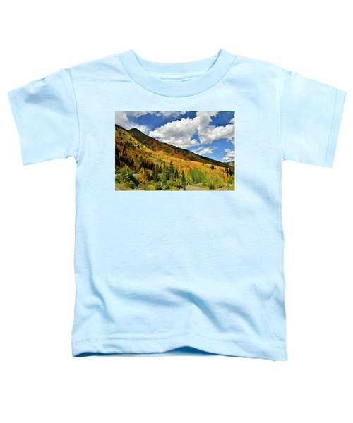 Color In The Spotlight At Red Mountain Pass Toddler T-Shirt