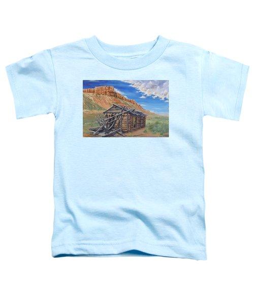 Colorado Prarie Cabin Toddler T-Shirt