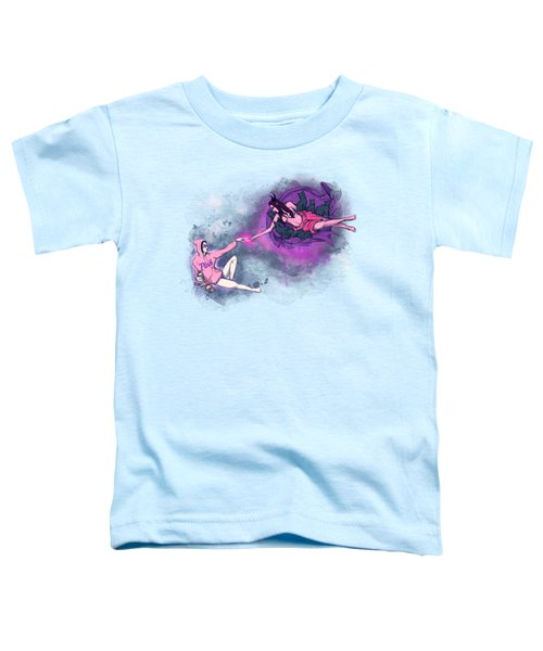 Creation Of Woman Toddler T-Shirt