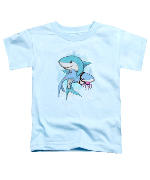 Daddy Shark Toddler T-Shirt