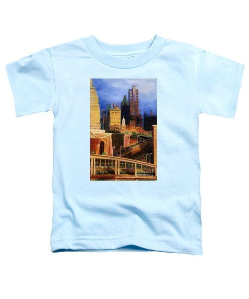 Dawn At City Hall Toddler T-Shirt