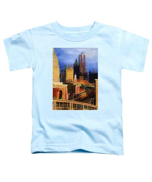 Dawn At City Hall Toddler T-Shirt
