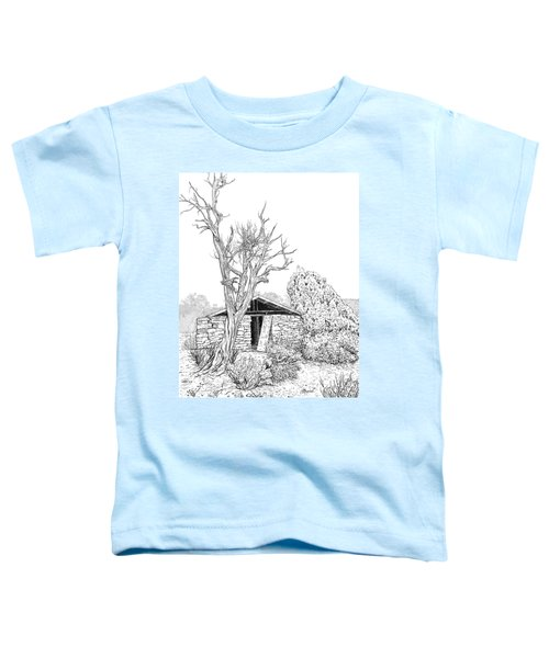 Decay Of Calamity The Half Life Of A Dream Black And White  Toddler T-Shirt