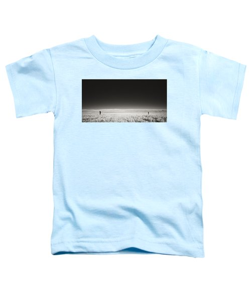 Toddler T-Shirt featuring the photograph Distance Between Us by Carl Young
