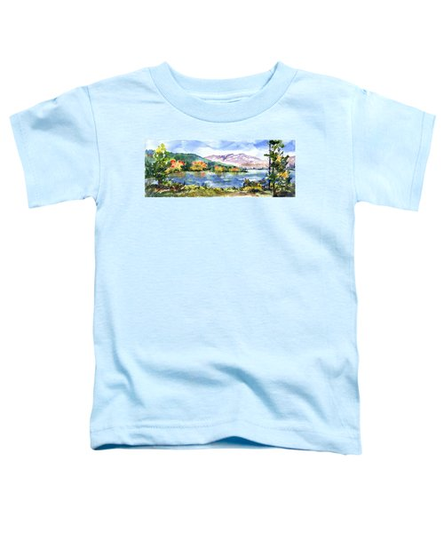 Donner Lake Fisherman Toddler T-Shirt