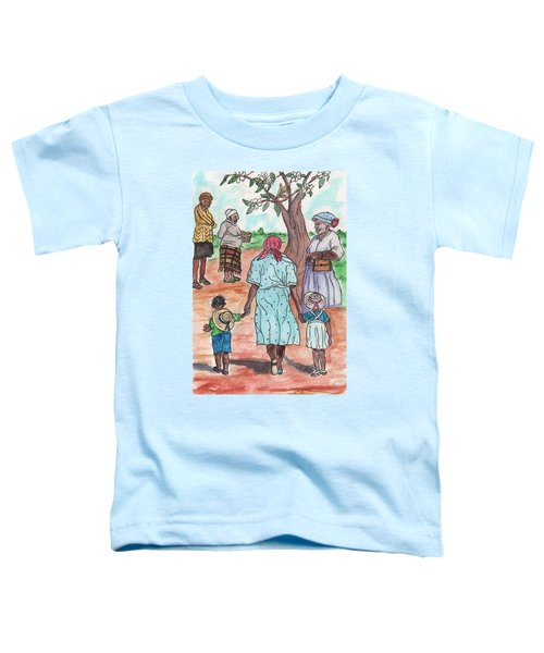 Down The Red Road And Past The Magnolia Tree Toddler T-Shirt
