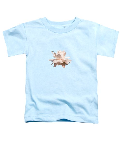 Dragonfly On Giant Victoria Cruziana Toddler T-Shirt