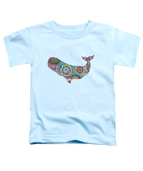 Electric Whale Toddler T-Shirt