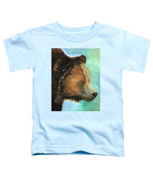 Face To Face Bear Toddler T-Shirt