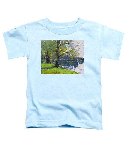 Fall At Bond Lake Park Toddler T-Shirt