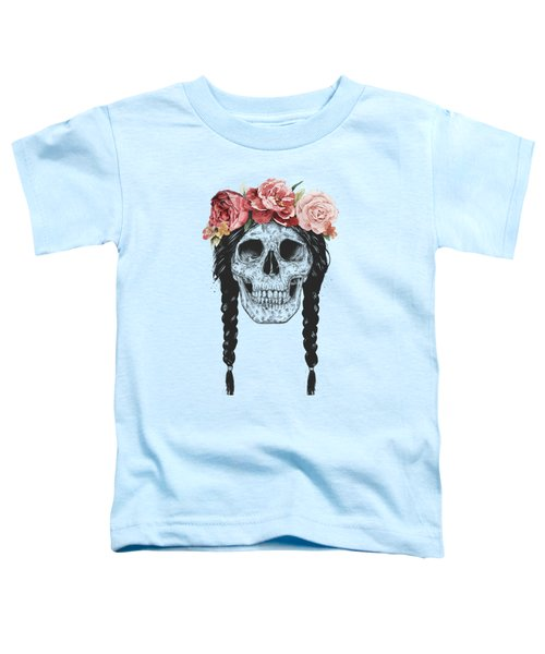 Festival Skull Toddler T-Shirt