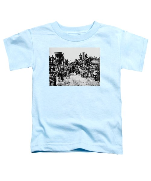 First Opening Of The Transcontinental Railroad - 1869 Toddler T-Shirt