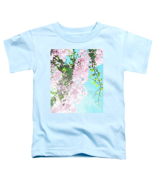 Floral Dreams IIi Toddler T-Shirt