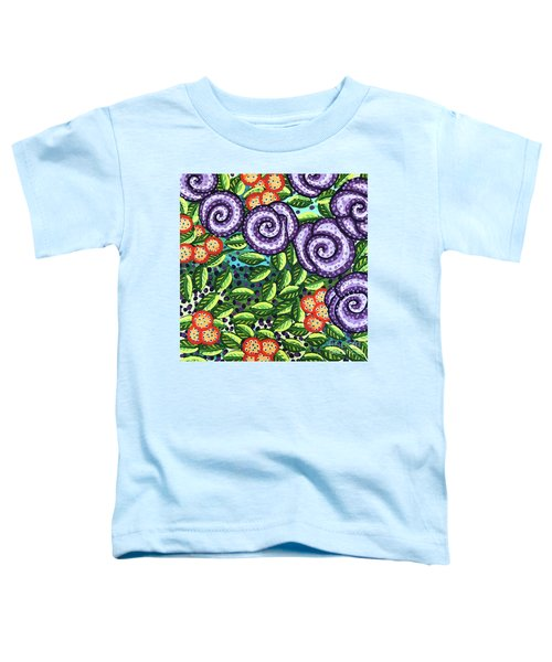 Floral Whimsy 11 Toddler T-Shirt